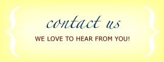 Contact Us - We love to hear from you